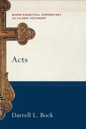 Acts de PH. D. Bock, Darrell L.