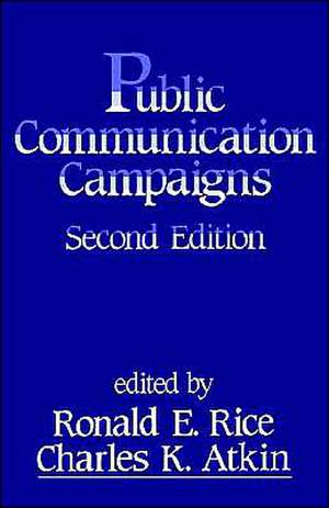 Public Communication Campaigns de Ronald E. Rice