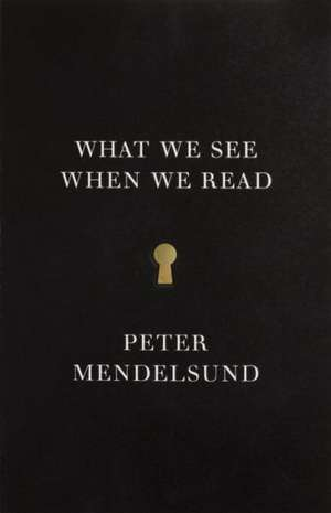 What We See When We Read de Peter Mendelsund