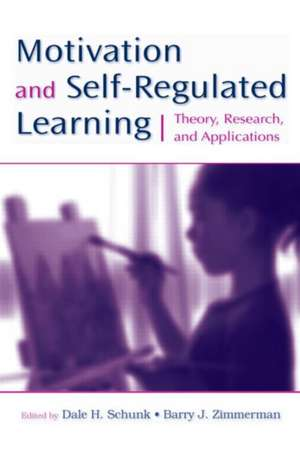 Motivation and Self-Regulated Learning de Dale H. Schunk