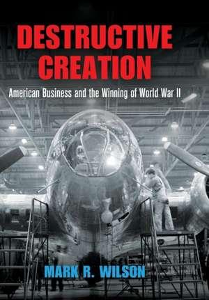 Destructive Creation de Mark R. Wilson