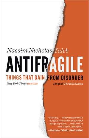 Antifragile de Nassim Nicholas Taleb
