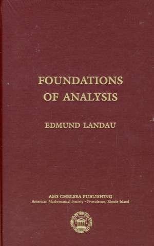 Foundations of Analysis imagine
