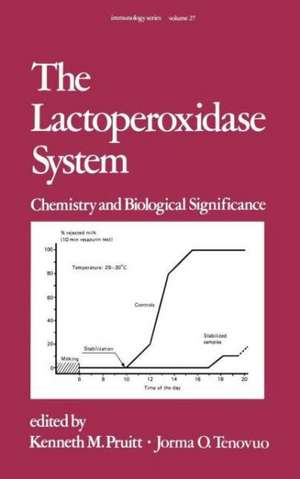 The Lactoperoxidase System:  Chemistry and Biological Significance de Kenneth M. Pruitt