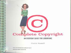 Complete Copyright de Carrie Russell