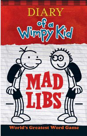 Diary of a Wimpy Kid Mad Libs de Price Stern Sloan