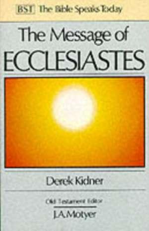 The Message of Ecclesiastes imagine