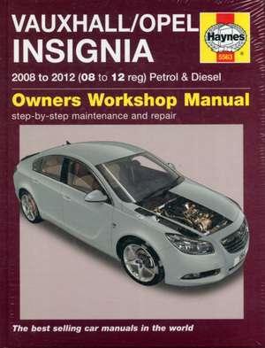 Vauxhall/Opel Insignia Petrol & Diesel Service and Repair Manual