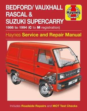 Bedford/Vauxhall Rascal Service and Repair Manual de  Haynes Publishing