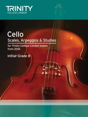 Cello Scales, Arpeggios & Studies