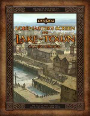 Loremaster's Screen and Lake-Town Sourcebook [With Gameboard] de  Cubicle 7