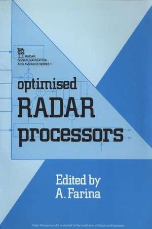 Optimised Radar Processors de Alfonso Farina