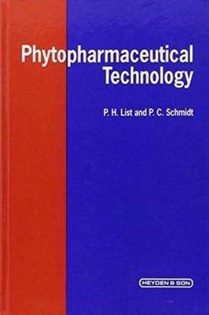 Phytopharmaceutical Technology de P. H. List