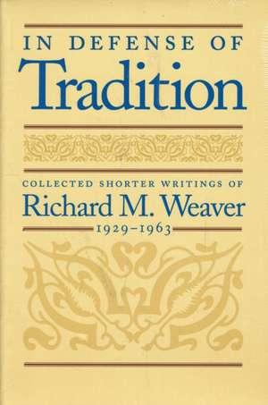 In Defense of Tradition imagine