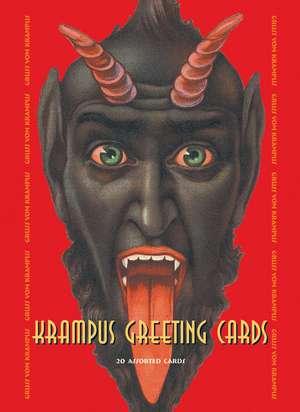 Krampus Greeting Cards de Monte Beauchamp