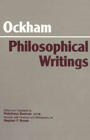 Ockham: Philosophical Writings de William of Ockham