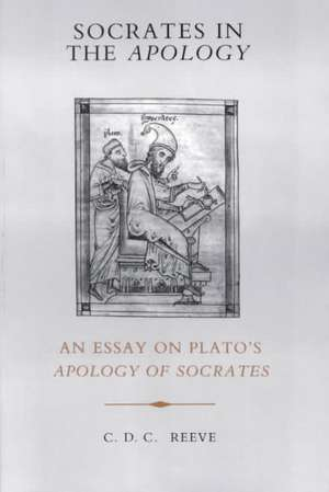 Socrates in the Apology imagine