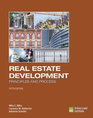 Real Estate Development - 5th Edition imagine