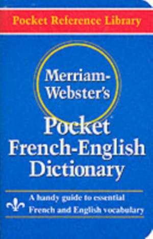 Merriam- Webster's Pocket French-English Dictionary imagine