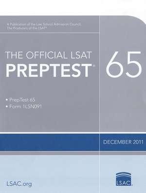 The Official Lsat Preptest 65