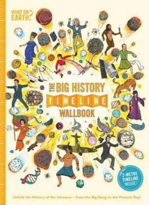 The Big History Timeline Wallbook: Unfold the History of the Universe - From the Big Bang to the Present Day