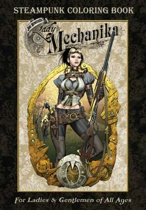 Lady Mechanika Steampunk Coloring Book