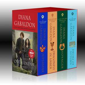 Outlander Boxed Set (1-4): Outlander, Dragonfly in Amber, Voyager, Drums of Autumn de Diana Gabaldon