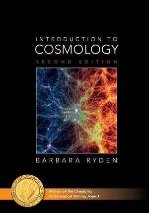 Introduction to Cosmology de Barbara Ryden