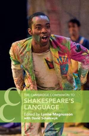 The Cambridge Companion to Shakespeare's Language de Lynne Magnusson