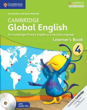 Cambridge Global English Stage 4 Learner's Book with Audio CD imagine