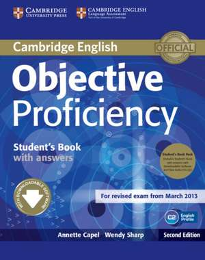 Objective Proficiency Student's Book Pack (Student's Book with Answers with Downloadable Software and Class Audio CDs (2))