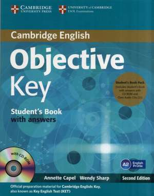 Objective Key Student's Book Pack (Student's Book with Answers with CD-ROM and Class Audio CDs(2))