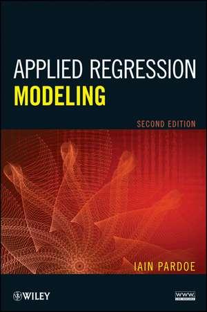 Applied Regression Modeling de Iain Pardoe