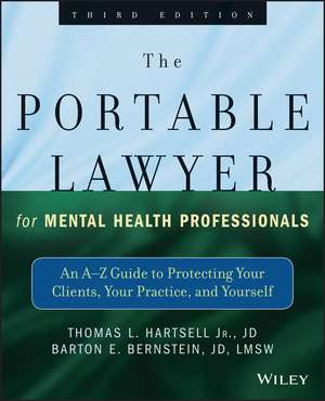 The Portable Lawyer for Mental Health Professionals imagine