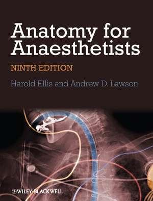 Anatomy for Anaesthetists de Harold Ellis