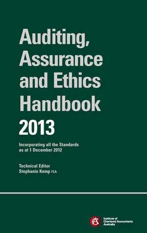 Chartered Accountants Auditing & Assurance Handbook 2013 + Wiley E–Text
