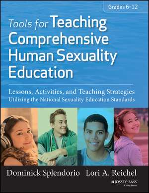 Tools for Teaching Comprehensive Human Sexuality Education