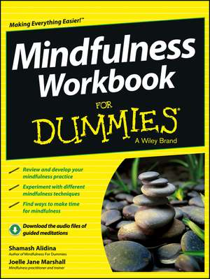 Mindfulness Workbook For Dummies de Shamash Alidina