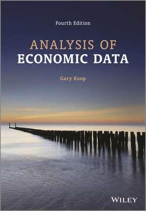 Analysis of Economic Data de Gary Koop