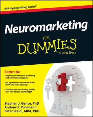 Neuromarketing For Dummies de Stephen J. Genco