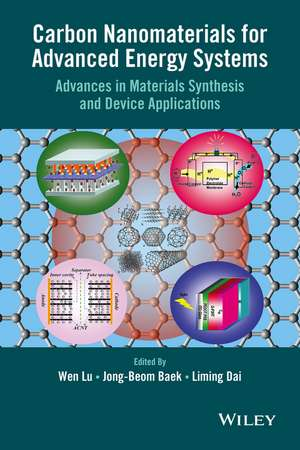 Carbon Nanomaterials for Advanced Energy Systems
