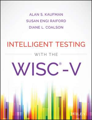 Intelligent Testing with the WISC–V