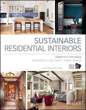 Sustainable Residential Interiors