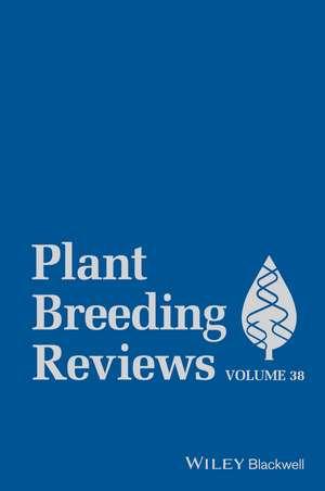 Plant Breeding Reviews