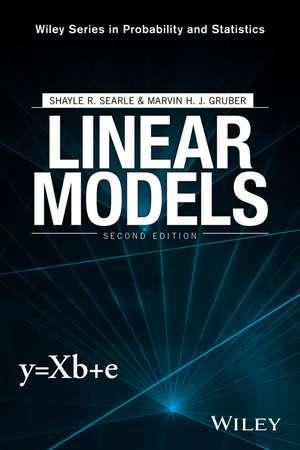 Linear Models de Shayle R. Searle