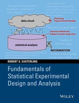 Fundamentals Of Statistical Experimental Design An