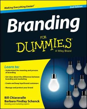 Branding For Dummies de Bill Chiaravalle