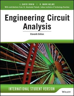 Engineering Circuit Analysis de J. David Irwin