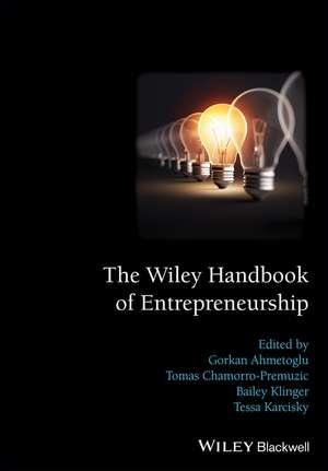 The Wiley Handbook of Entrepreneurship