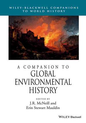 A Companion to Global Environmental History